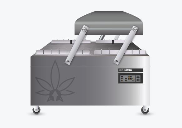 High Nitro Process - Take the Smart bag to the High Nitro machine.